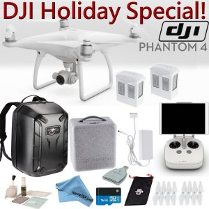 DJI Phantom 4 Quadcopter Backpack Bundle