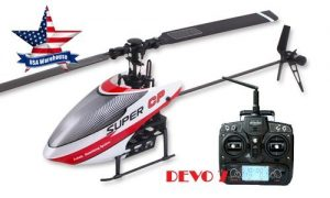 Walkera Super CP 2.4G 6CH 3D RC Helicopter RTF with DEVO 7 Transmitter